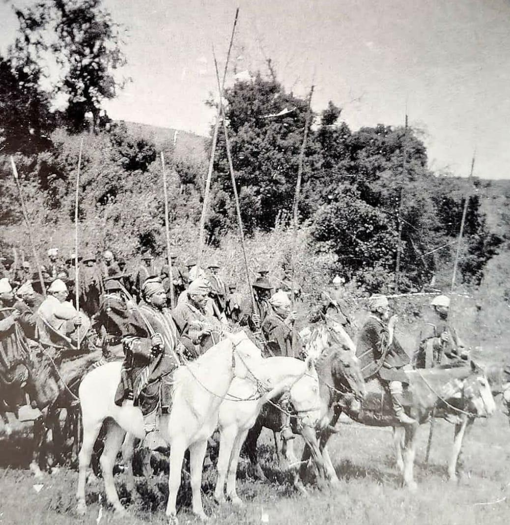 Año 1920, comunidad mapuche lista para dar batalla