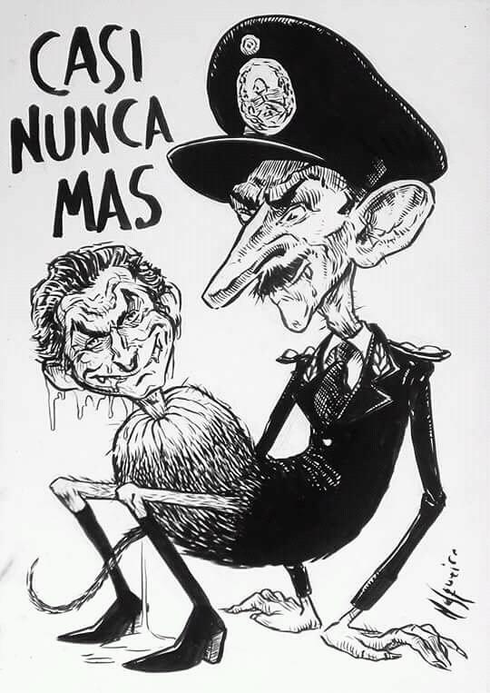 ¿Nunca Más?. Macri y Videla.